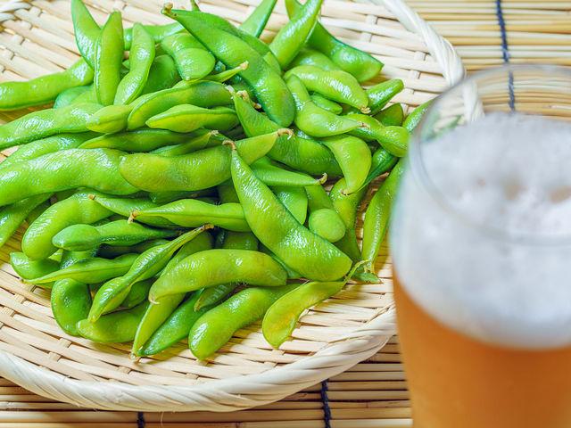 夏天就是要吃毛豆配啤酒!