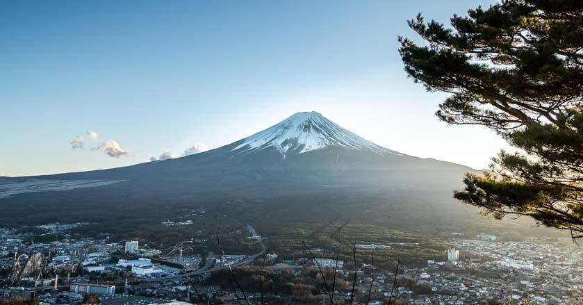 富士山跟世界文化遺產